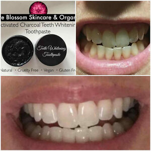 100% natural activated charcoal teeth whitener