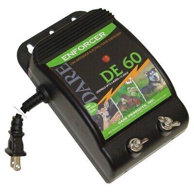 Dare Products Enforcer 110 Volt Electric-powered Fence Energizer 3 Acres Black