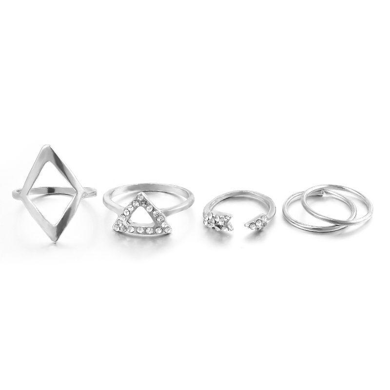 5Pcs/set Silver