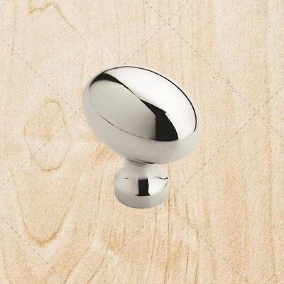 Cabinet Hardware Drawer Oval Knobs kt990 Polished Chrome Knob 1-3/16
