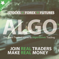 MAKE $$$ TRADING STOCKS, FOREX & FUTURES with ALGORITHMS