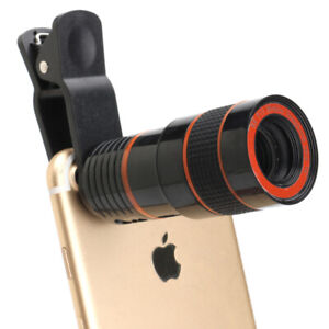 Clip-on Zoom Lens for Mobile Phone