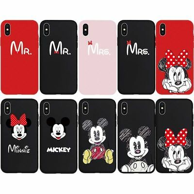 Mr. Mrs. Mouse Mickey Minnie Phone Case Cover Couple Lover Skin For iPhone XsMax](Mr Lover Lover)