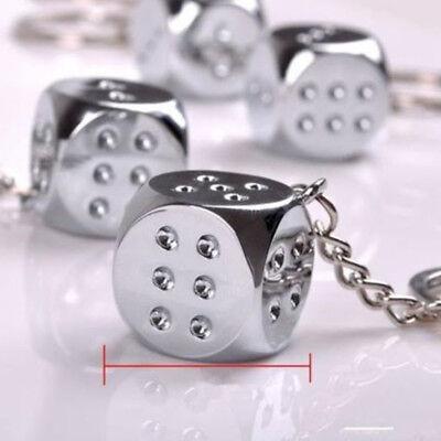 Cool Keychains For Men (Key Chain Dice Cool Fashion Men Ladies Charm Pendant Keychain Keyring)