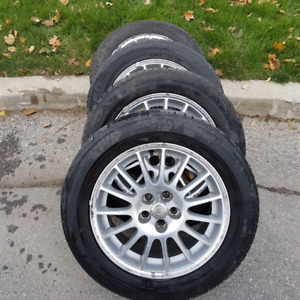 205 60 r16 for sale or trade for Michelin 235 55 r18 off rims
