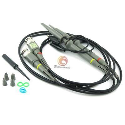 2pcs P6100 Oscilloscope Scope Clip Probe 100mhz For Tektronix Hp Dy Mf 100mhz