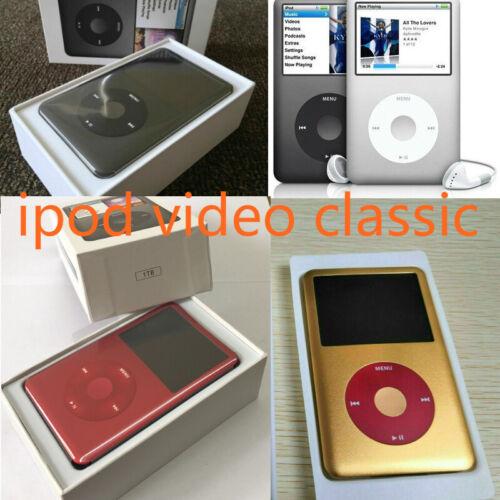 NEW Apple iPod Video classic 5th 6th 7th Generation 80 128 160 256 512GB 1TB