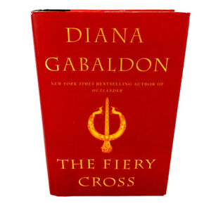The Fiery Cross Hardcover Outlander Book 5 Diana Gabaldon 1st Ed