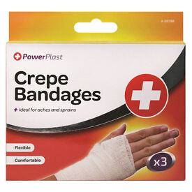 24 x Crepe Bandages (3 in pack)