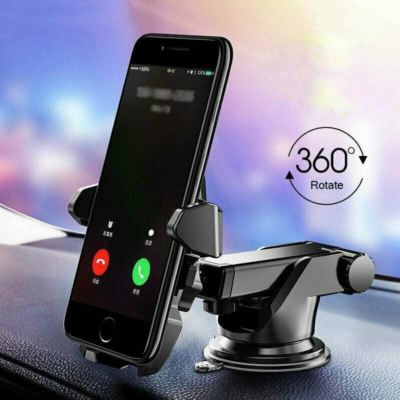 360° Car Phone Holder Windshield Dash Suction Cup Mount Stand For Cell Phone GPS Cell Phone Accessories