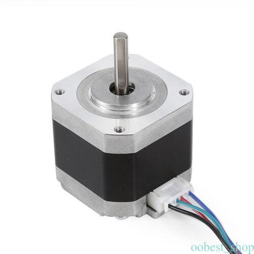 2 Phases 42BYG Nema 17 34/40/48/60mm 1.5A stepper motor Bracket Fr 3D Printer O1