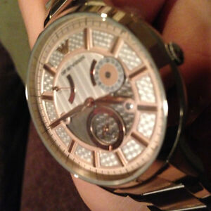 Mens Emporio Armani Automatic Rose Gold