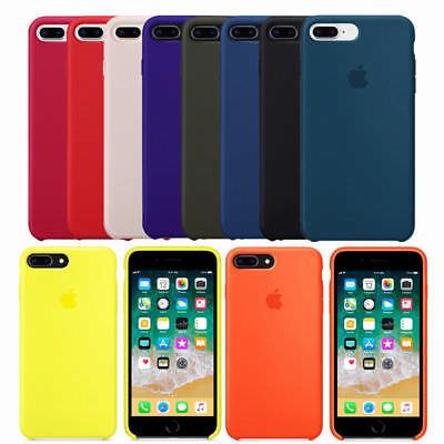 Genuine Original Soft Silicone Case Cover For Apple Iphone 8 8 Plus 7 7Plus