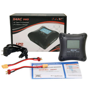HTRC H4AC DUO Mini RC Charger Dual Port 20w x2 2A x2 for 2-4s Li