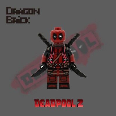 Neu Drache Stein Custom Deadpool 2 Hello Kitty Rucksack Lego Minifigur