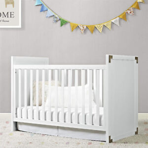 Brand New Baby Relax 2-in-1 Convertible Wood Crib Reg $360+ For