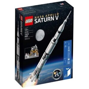 New sealed Lego Ideas set 21309 NASA Apollo Saturn V