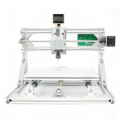 3 Axis Diy Cnc Router Kit 24x18cm Usb Wood Engraving Carving Pcb Milling Machine