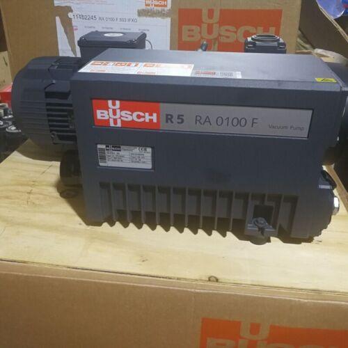 BUSCH R5 RA0100F RA 0100 F Vacuum Pump, New