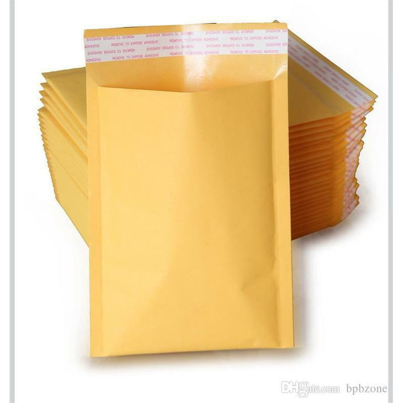 Kraft Bubble Mailers Padded Envelopes Protective Packaging Bubble Pak Brand Business & Industrial