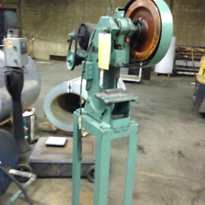 4 ton Alceco Obi Punch press 115 volt, on stand