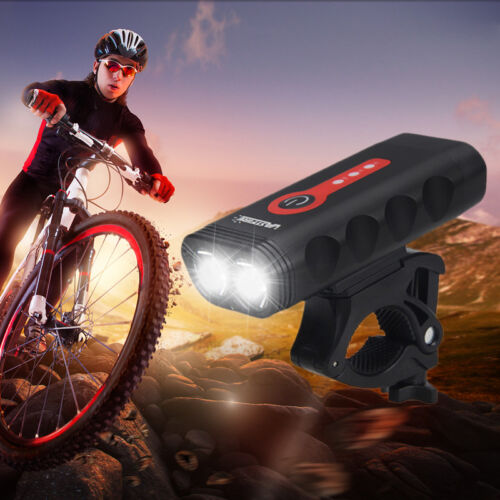 USB Charging Mountain Bike Headlights Taillights 3 Modes Bicycle Rear Lamp Light