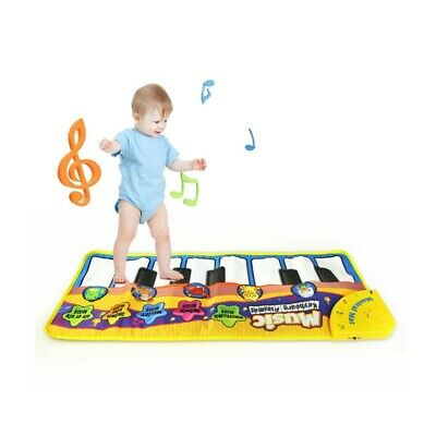 Kids Baby Boy Girl Musical Piano Play Mat Development Educational Soft Toys US