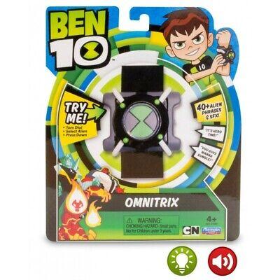 Montre Ben10 ten Omnitrix Français Lumière Et Son + de 40 phrases...
