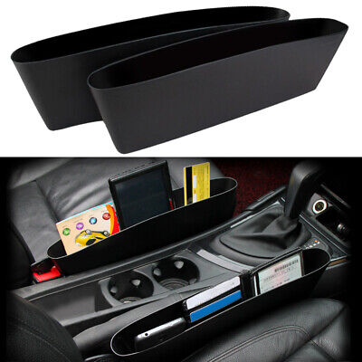 2x Car Seat Seam Gap Filler Pouch Bag Storage Organizer Holders  Accessories Grocery Sack Holder