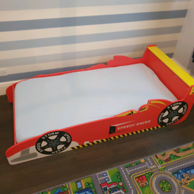 Racing car cotbed, boys, child's bed