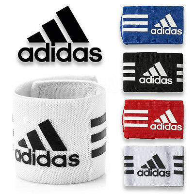 Adidas Guard Stays Shin Pad Holder Football Ankle Straps Soccer Sports Support (Adidas Ankle Guard)