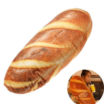 20-60cm Simulation French Bread Pillow Plush Cushion Kid Xmas Birthday Toy Gift (Donald Duck Halloween French)