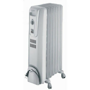 Delonghi TRH0715CA 1500W Safe Heat Portable Oil-Filled Radiator