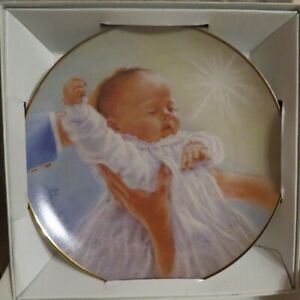 """""""The Baptism Plate"""" by Abbie Williams - New in Box"""