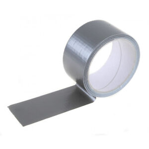 All Purpose Duct Tape - Silver - 48MM X 8 Yards (72 Rolls)