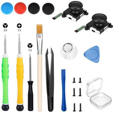 3D Analog-Sensor Stick Joystick Repair Tools Kit for Nintendo Switch NS Joy-Con