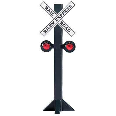 RAILROAD CROSSING SIGN Personalized CARDBOARD CUTOUT Standee Standup Train Prop  (Personalized Cardboard Cutouts)