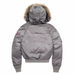 2017 NEW OVO X CANADA GOOSE WOMEN XS-SMALL-MEDIUM- STEEL GREY