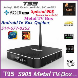 Android Tv Box Québec ***T95 2GB 64Bits*** Best Streaming ******