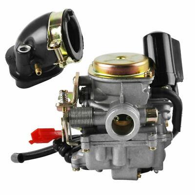 Vergaser mit Ansaugstutzen für Rex RS 400 RS 450 RS 460 GY6 50cc GY6 60cc * CE *
