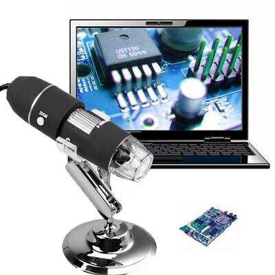 500x1000x 8 Led Usb Zoom Digital Microscope Hand Held Biological Endoscope Us