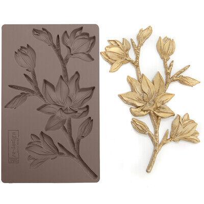 FOREST FLORA Re-Design Prima Decor Moulds Mold Food Safe 5X8 Resin #643102
