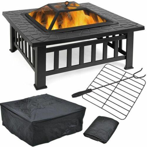 81 cm Feuerschale Feuerkorb Terrassenofen Gartenfeuer Feuerstelle BBQ Grill