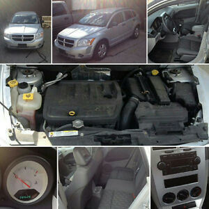 2008 Dodge Caliber Silver Coupe (2 door)