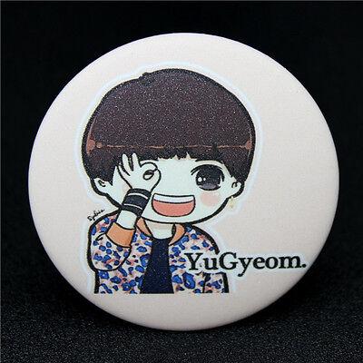 Fashion KPOP GOT7 YuGyeom Q edition style Badge Brooch Chest Pin Souvenir Gift