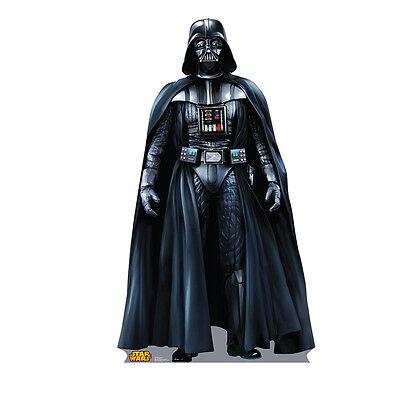 DARTH VADER Star Wars Lifesize CARDBOARD CUTOUT Standup Standee Poster FREE SHIP - Darth Vader Cut Out