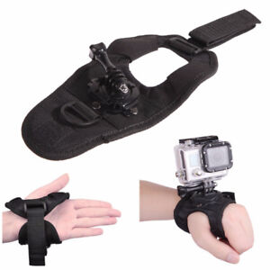 Glove Style Wrist Band Mount Strap for Gopro Hero 4 Hero 3 etc.