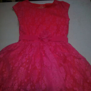 Girls Dress - size 7 with belt Cambridge Kitchener Area image 1