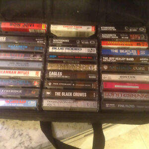 Gently used Cassette Tapes