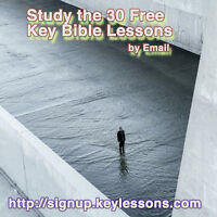 30 Key Bible Lessons. Free. by Email